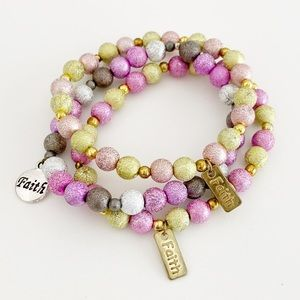 Bible Verse Bracelet, Faith Bracelet, Spiritual